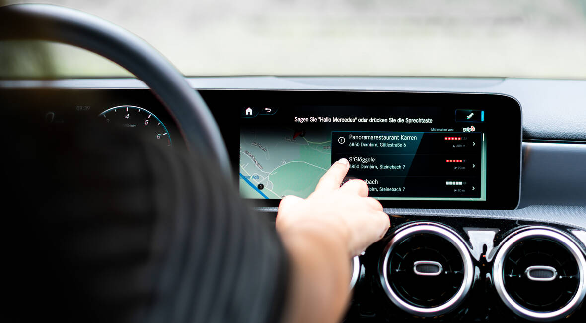Web 3.0: Mercedes Benz User Experience