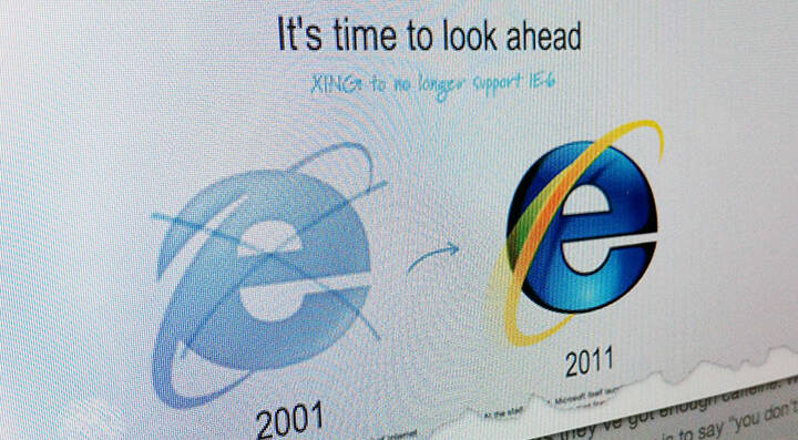 Header Browser IE6