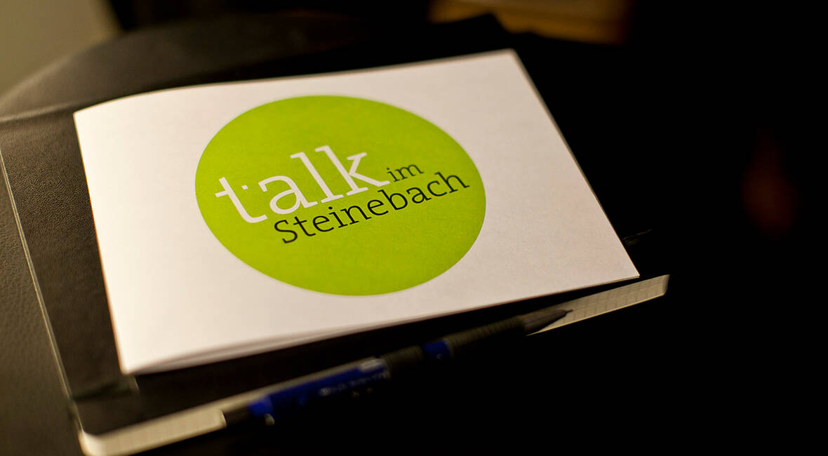 MASSIVE ART Blog: Talk im Steinebach