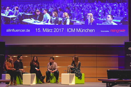 Premiere der AllInfluencer Marketing Conference