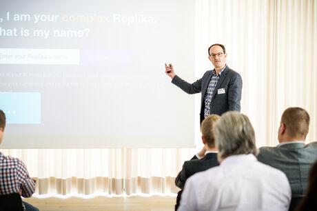 MASSIVE ART Digital first-Event: Impulse für eine digitale Zukunft David Mattin