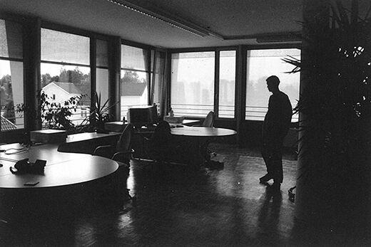 Das MASSIVE ART Büro in Dornbirn in der 90er Jahren