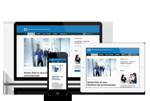 MASSIVE ART Blog - Handelskammerjournal - Responsive Webdesign
