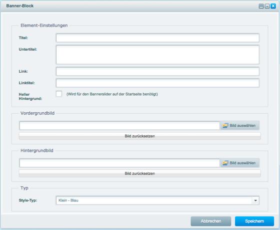 ShopwarePlugin_Abb2Elemente bearbeiten ist dank der verschiedenen Blöcke unkompliziert möglich.