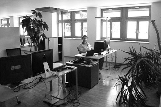 Das neue Büro 2010 in Dornbirn