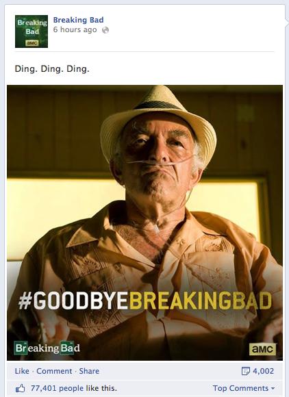 Breaking Bad - Hashtags nutzen