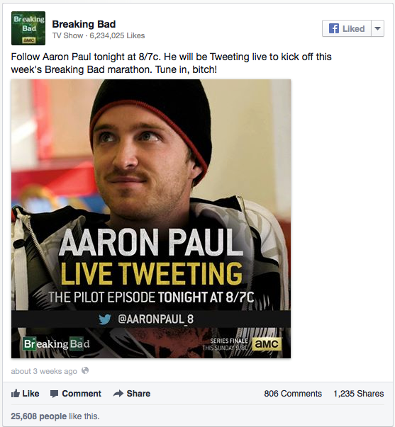 Breaking Bad_Live Tweeting