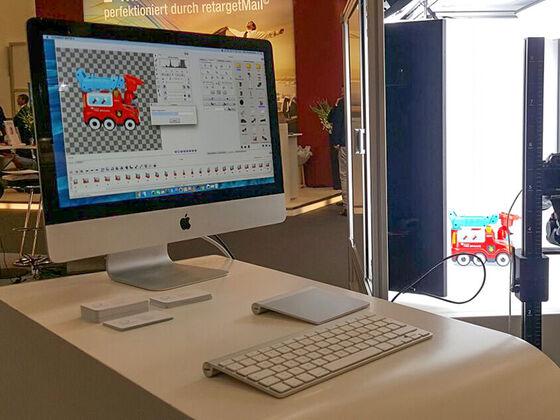 All-in-one Geräte erstellen in wenigen Minuten 360° Produktfotos. Nach Wunsch ohne Hintergrund oder im Schatten-Modus.