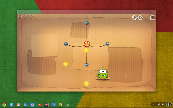 Cut the Rope Chrome OS