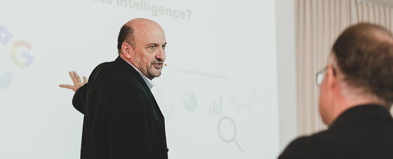 Business Intelligence mit Frank Blau
