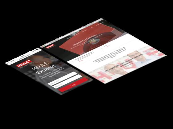 MASSIVE ART – HEULE Extranet und Website-Relaunch