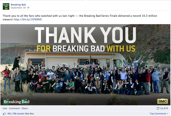 Breaking bad_Thank you