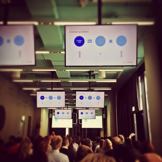 Google Adwords Basics Zürich Mai 2014 - Anzeigen Position