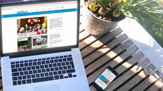 Marktgemeinde Wolfurt ab jetzt interaktiv - Design