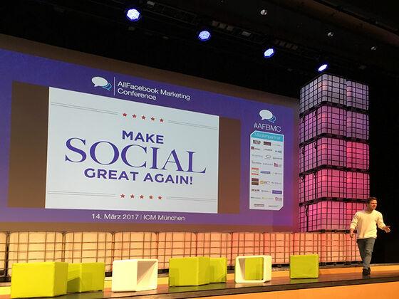 Daniel Zoll appelliert, sich wieder mehr auf den Grundgedanken von Social Media zu besinnen.