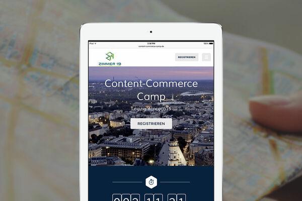LIVE-STREAM: AUF ZUM CONTENT-COMMERCE CAMP 2015 NACH LEIPZIG