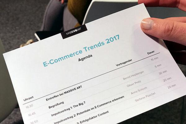 Trends im E-Commerce Herbst-Event MASSIVE ART