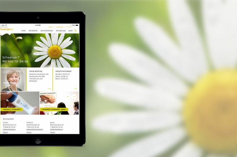 MASSIVE ART – Website-Relaunch für Schwanger.li