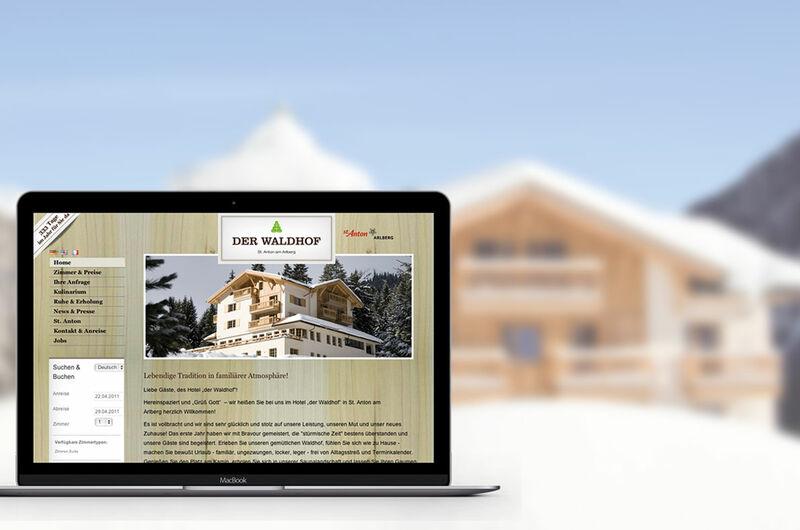 MASSIVE ART – Website-Relaunch für Der Waldhof