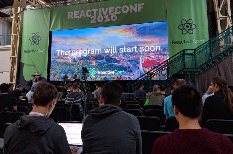 Meine Top-6 Inhalte der ReactiveConf in Bratislava