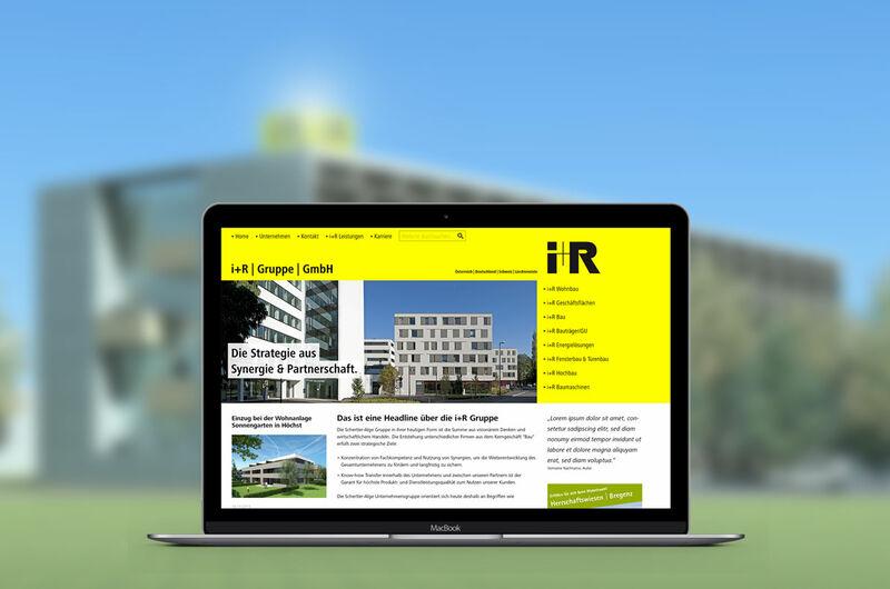 MASSIVE ART – Website-Relaunch für i+r Schertler
