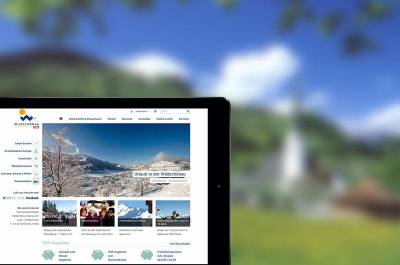MASSIVE ART – Website-Relaunch für Wildschönau