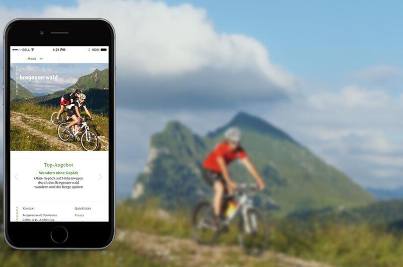 MASSIVE ART – Website-Relaunch für Bregenzerwald Tourismus