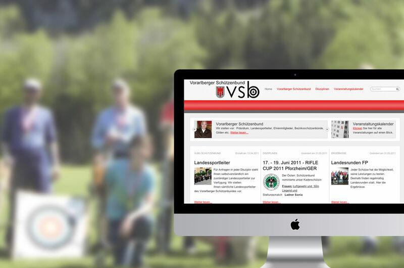 MASSIVE ART – Website-Relaunch für Vorarlberger Schützenbund