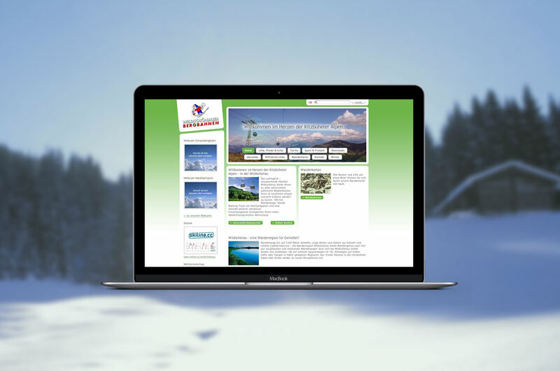 MASSIVE ART – Website-Relaunch für Bergbahn Wildschoenau