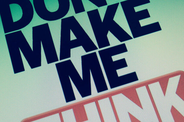 DON´T MAKE ME THINK!