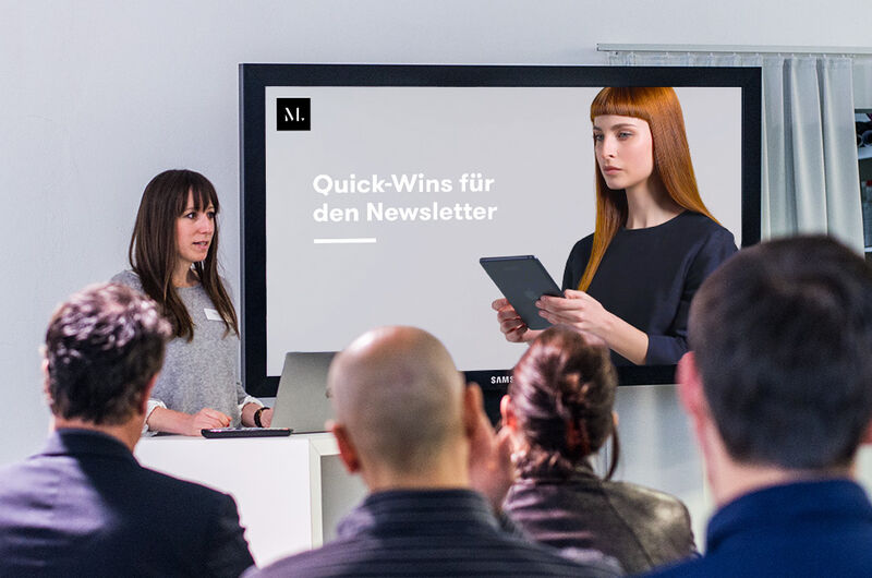 Quick-Wins für Ihren Newsletter MASSIVE ART