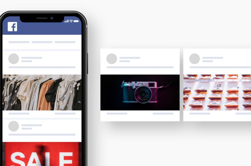 Google + Facebook Shopping