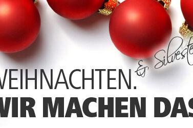 MASSIVE ART Blog: Weihnachten & Silvester WIR MACHEN DAS
