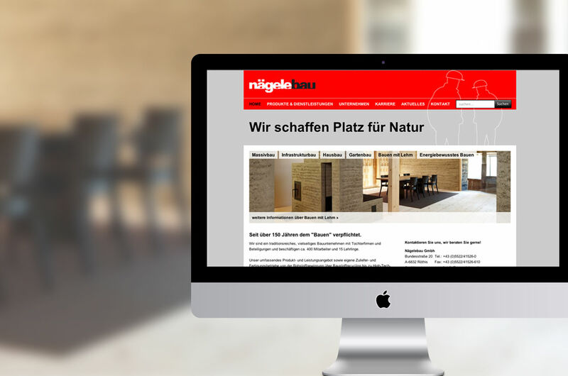MASSIVE ART – Website-Relaunch für Nägelebau