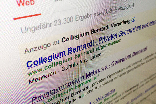Fallstudie Collegium Bernardi Suchmaschinen Marketing