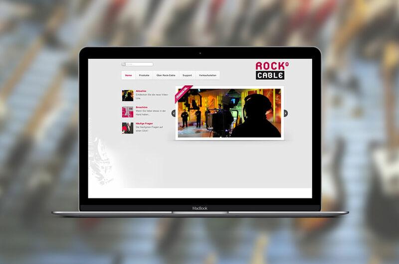 MASSIVE ART – Website-Relaunch für Rockcable