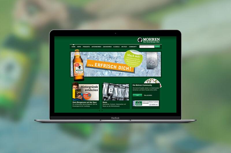 MASSIVE ART – Website-Relaunch für die Mohrenbrauerei