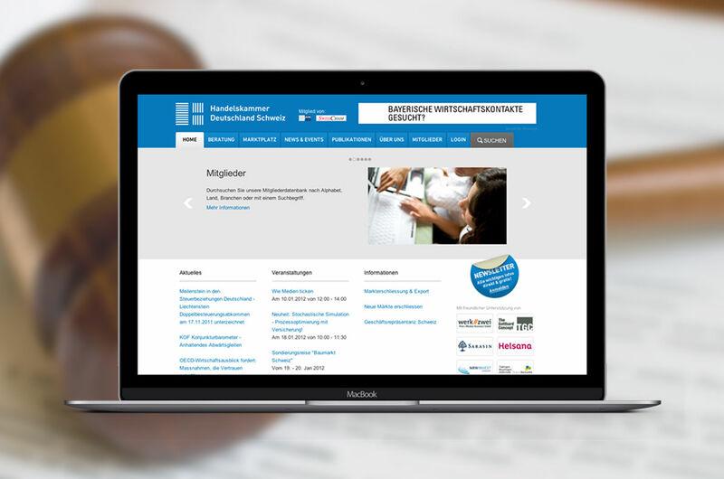 MASSIVE ART – Website-Relaunch für die Handelskammer Deutschland-Schweiz