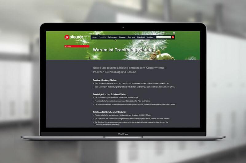 MASSIVE ART – Website-Relaunch für Steurersystem