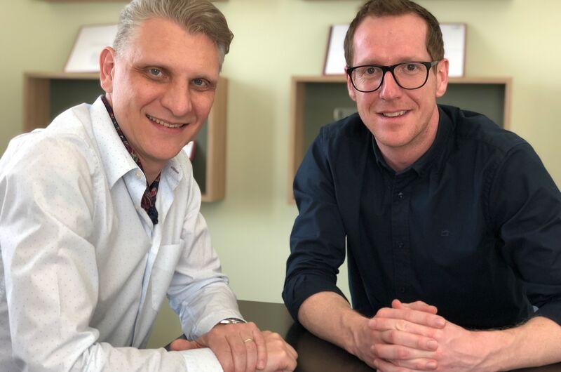 Bernd Hepberger und Martin Dechant machen gemeinsame Sache.