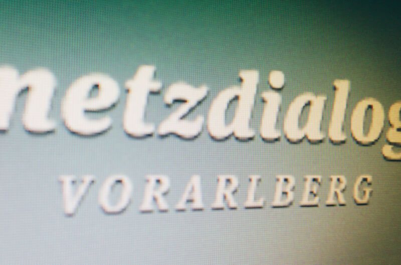 MASSIVE ART Blog: Netzdialog Vorarlberg