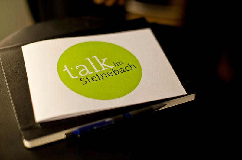 MASSIVE ART Blog: Talk im Steinebach