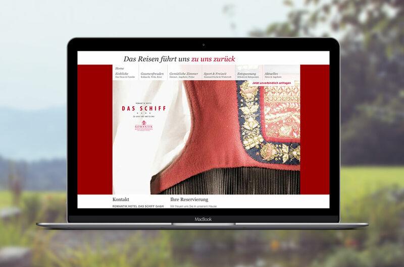 MASSIVE ART – Website-Relaunch für Das Schiff