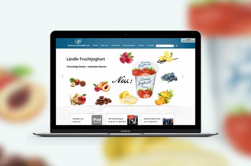 MASSIVE ART – Website-Relaunch für V-Milch