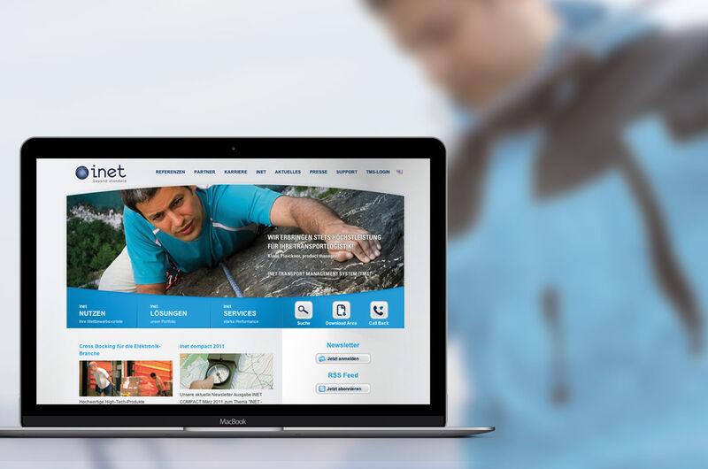 MASSIVE ART – Website-Relaunch für inet logistics